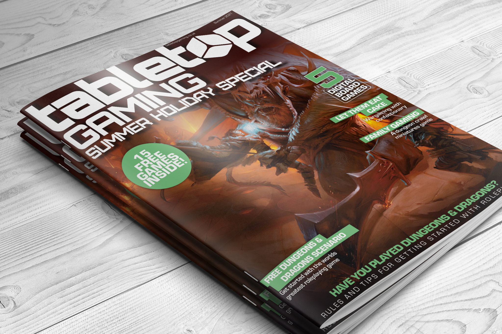 Tabletop Gaming Magazine summer special